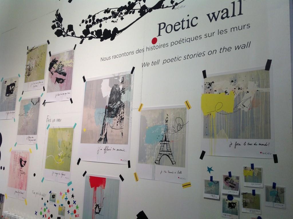 Poetic Wall by Mel et Kio