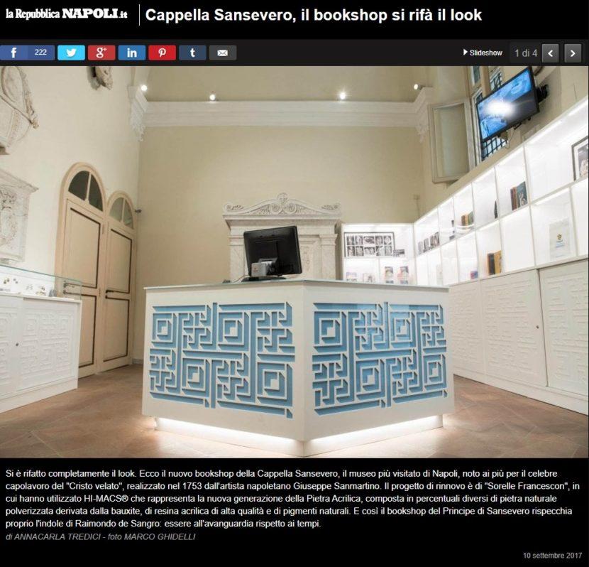 nuovo bookshop museo cappella sansevero