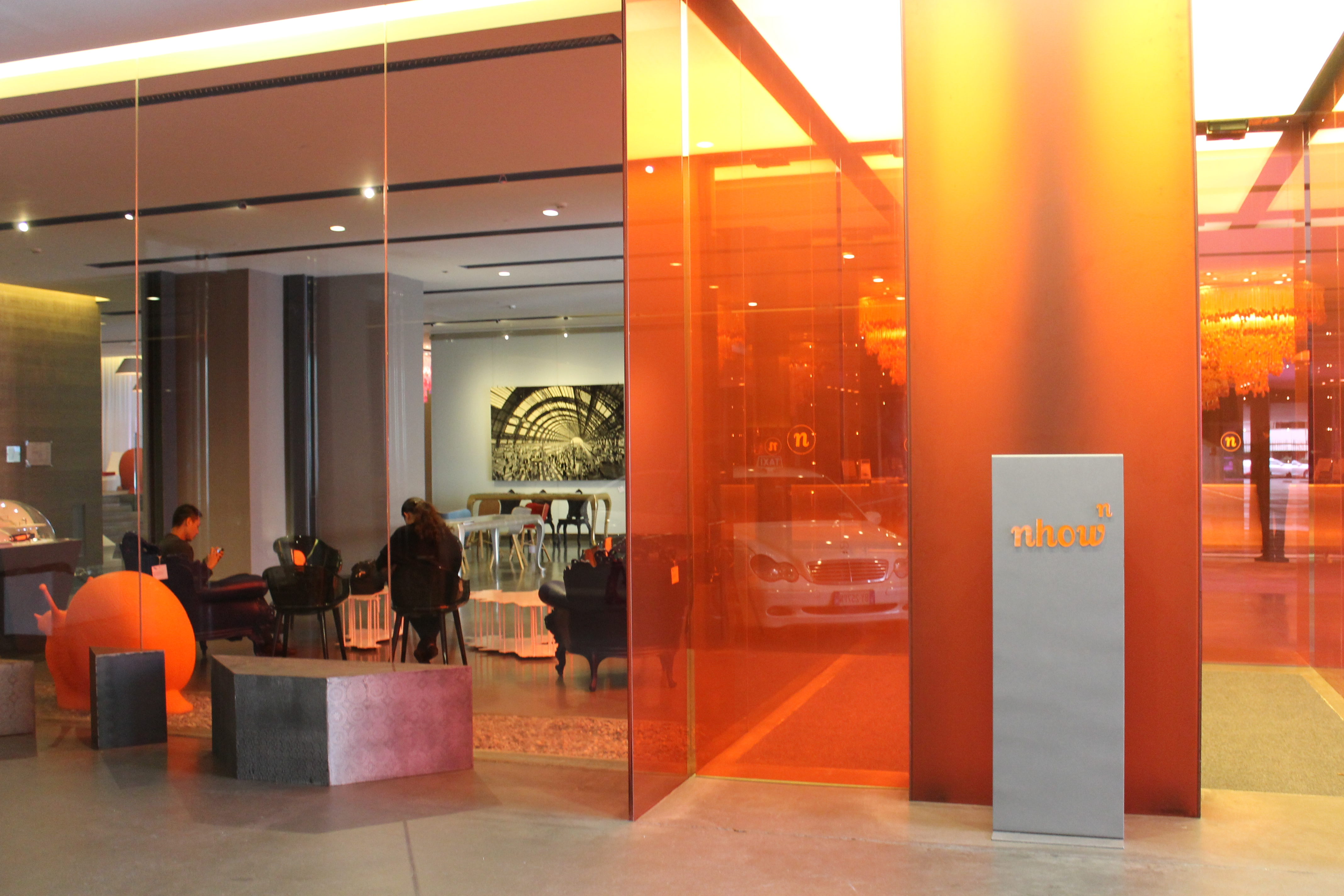 the works of art and design on show at nhow milano lost