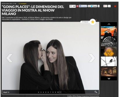 Francescon Sisters on Panorama magazine