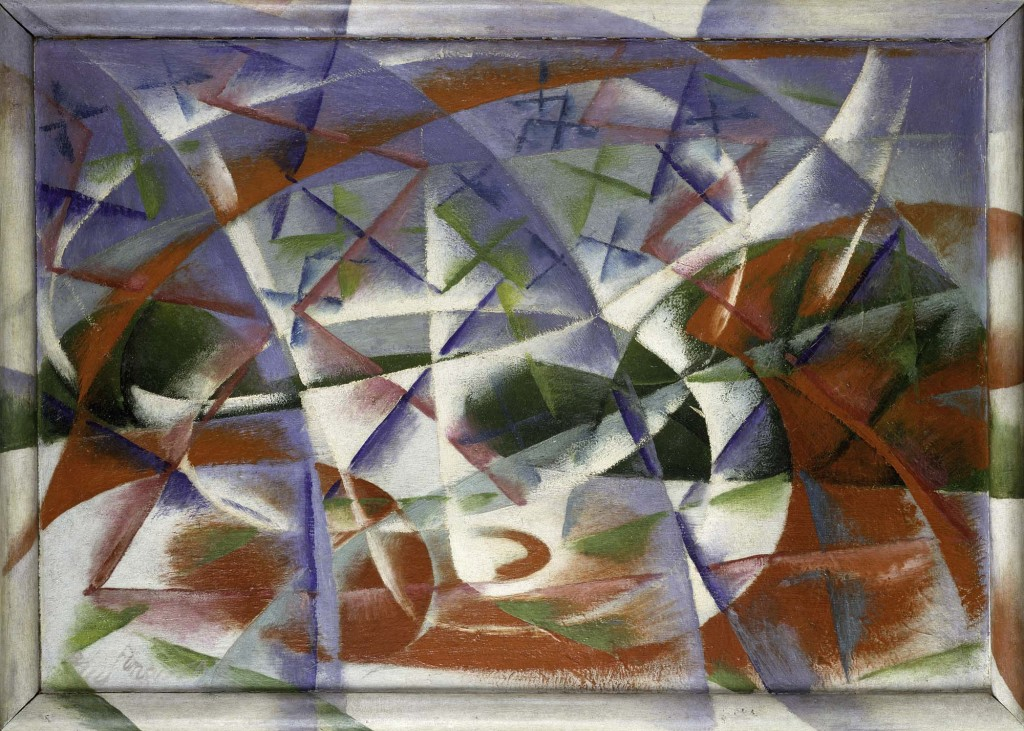 Abstract Speed and Sound, 1913-14