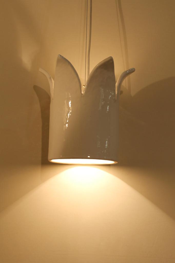 Be My Queen lamp