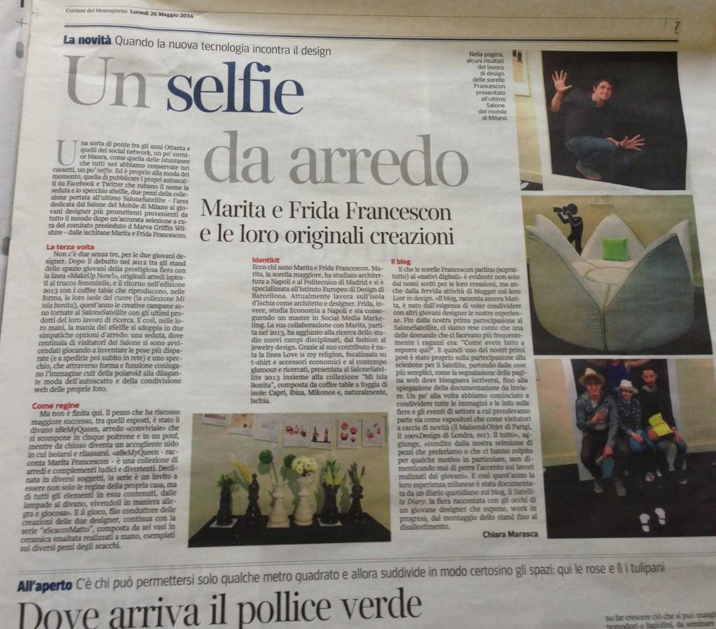 Corriere del Mezzogiorno 26 maggio 2014