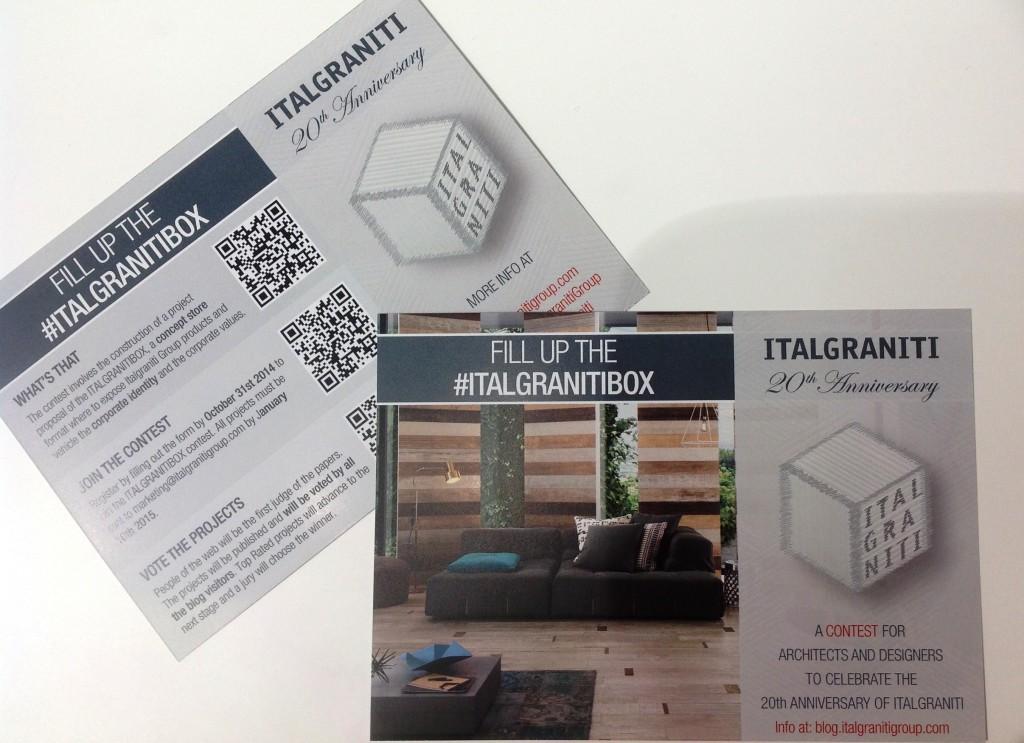 Italgraniti box contest 2