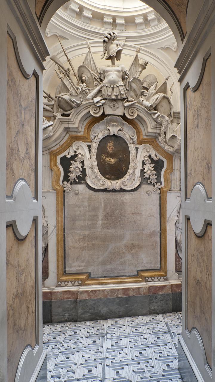 12.Resti pavimento labirintico originale Cappella Sansevero