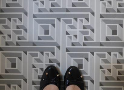 pavimento labirintico Refin Sorelle Francescon