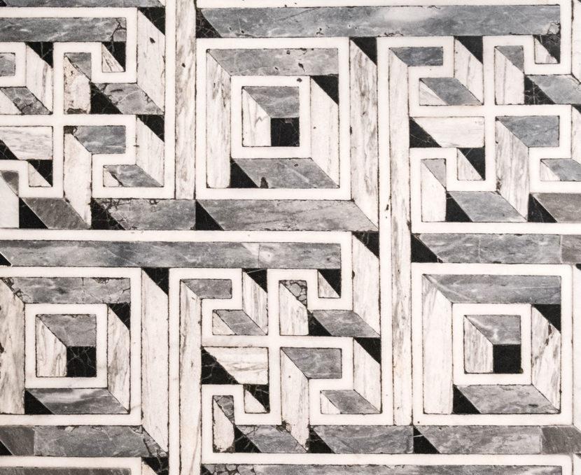 6.Resti pavimento settecentesco Cappella Sansevero